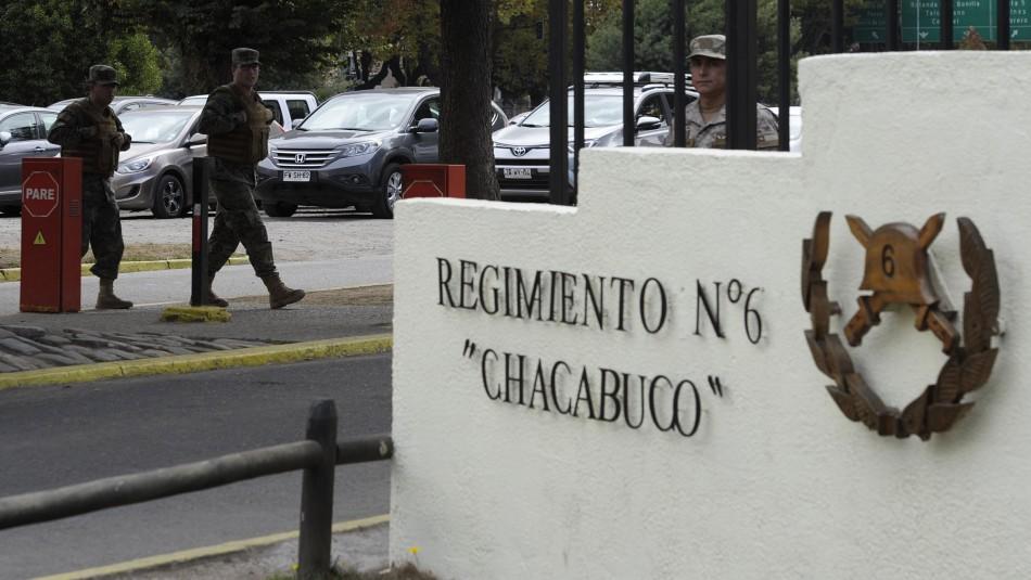 Vuelco en robo a regimiento de Concepción: Soldados detenidos declararán ante Fiscalía Militar