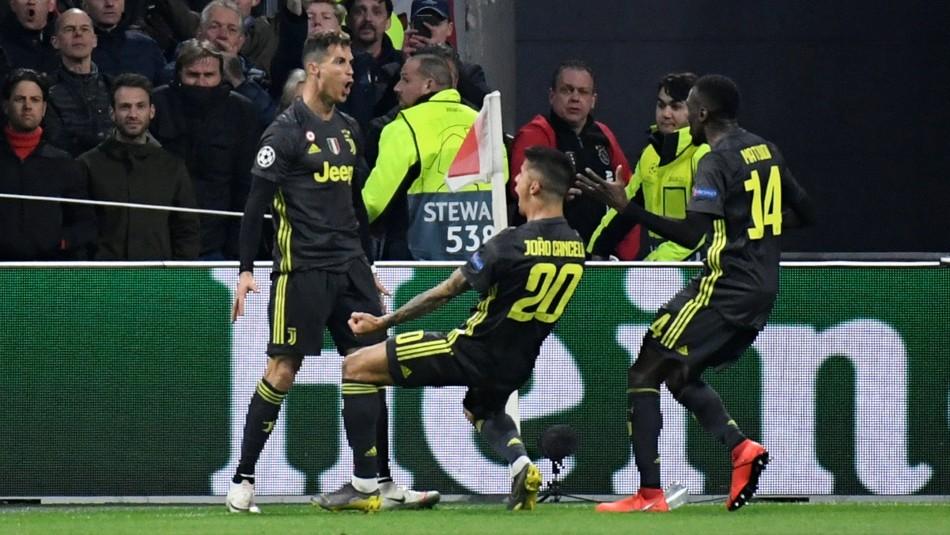 Cristiano Ronaldo y su festejo / Reuters.