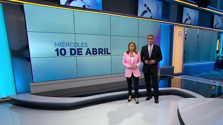 Ahora Noticias Central 10 de abril