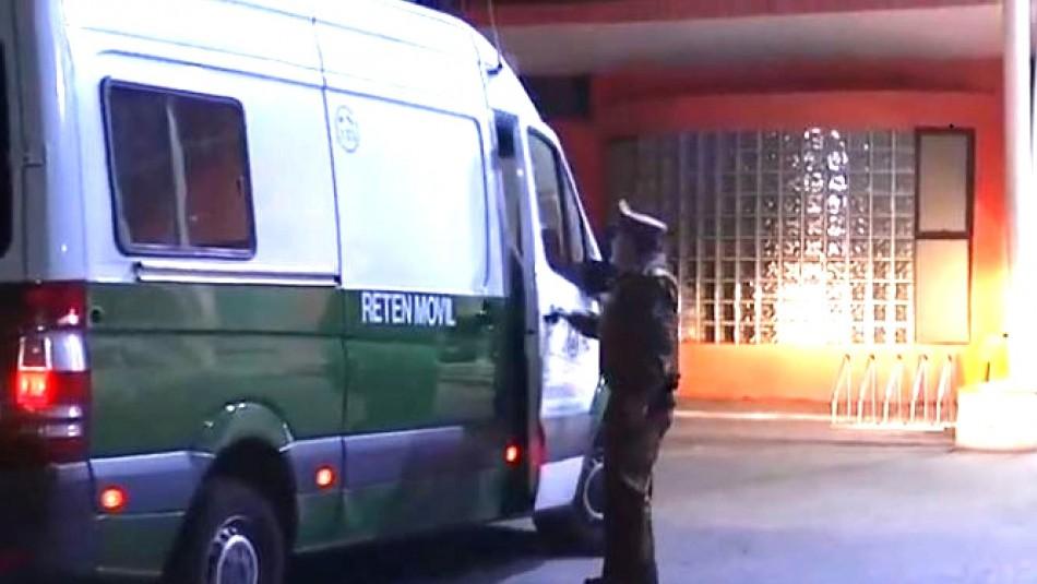 Detenido logra fugarse desde centro asistencial de Pudahuel