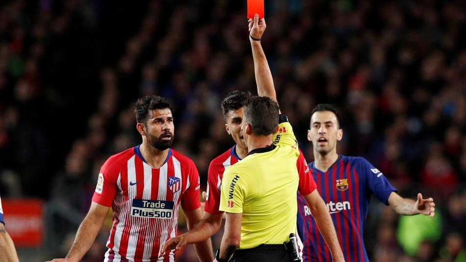Dura sanción para Costa. / Reuters