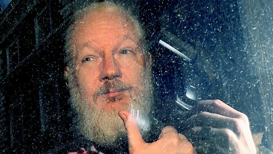 Julian Assange podría pagar un año de cárcel en Reino Unido antes de ser extraditado / Agencia UNO.