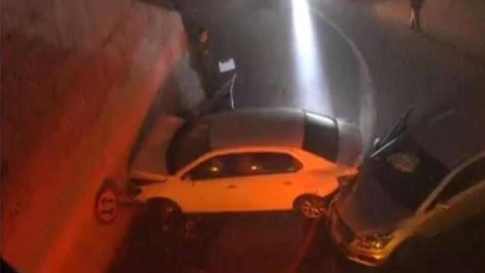 Persecución policial de auto robado termina con carabinera herida de gravedad