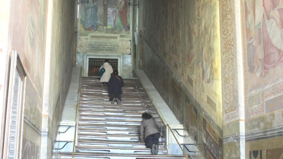 Escalera Santa en Roma / Wikimedia