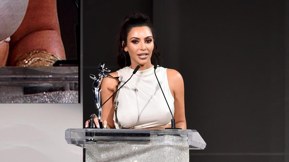 Kim Kardashian está estudiando para ejercer como abogada / AFP