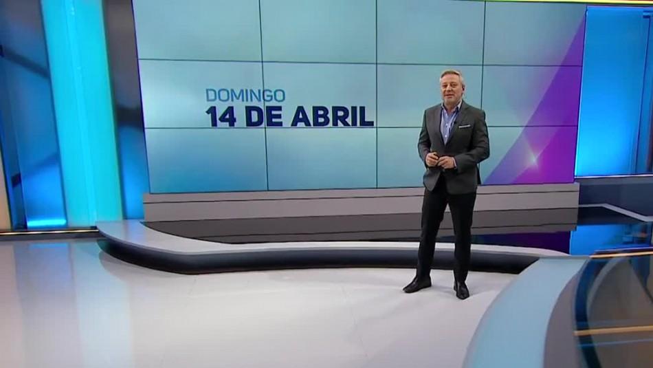 Ahora Noticias Central 14 de abril