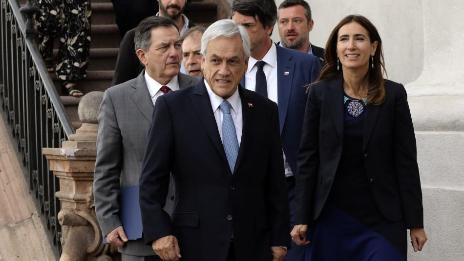 Cadem: Desaprobación al Gobierno de Sebastián Piñera llega al 52%