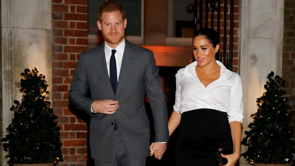 [VIDEO] El polémico anuncio del Principe Harry y Meghan Markle sobre el nacimiento de su bebé