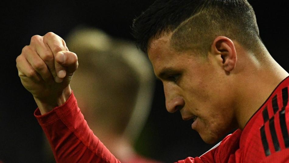Alexis Sánchez está convocado en Champions. / AFP