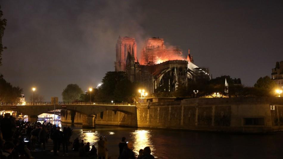 Catedral de Notre Dame / AFP.