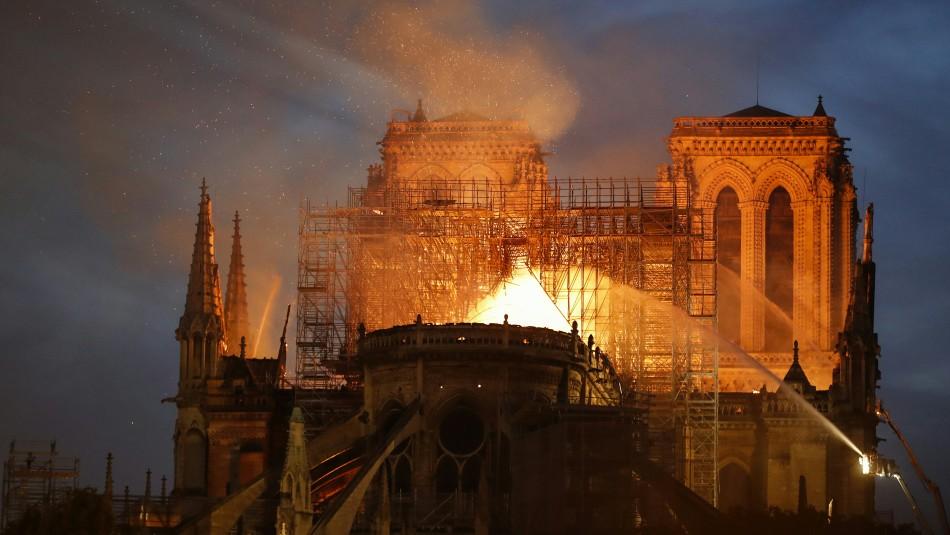 Incendio en Catedral de Notre Dame / AFP.