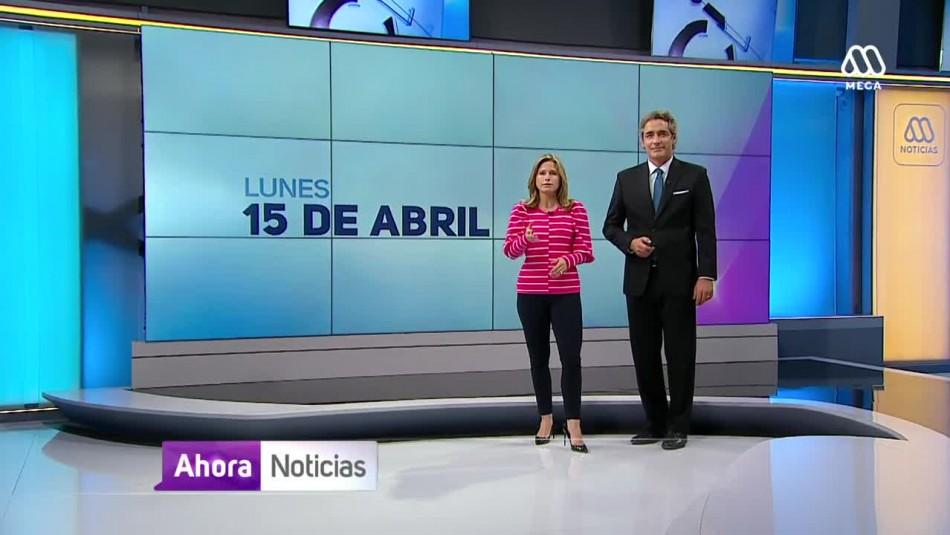 Ahora Noticias Central 15 de abril