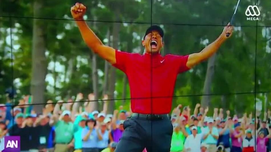 Del infierno a la gloria: El renacer de Tiger Woods a sus 43 años