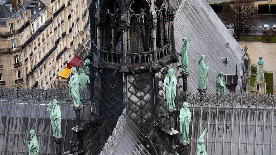 Gobierno francés por incendio en Notre Dame: