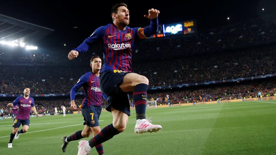 Messi figura en Champions. / Reuters
