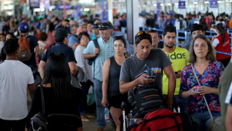 Semana Santa: Conoce las medidas de contingencia en el Aeropuerto de Santiago