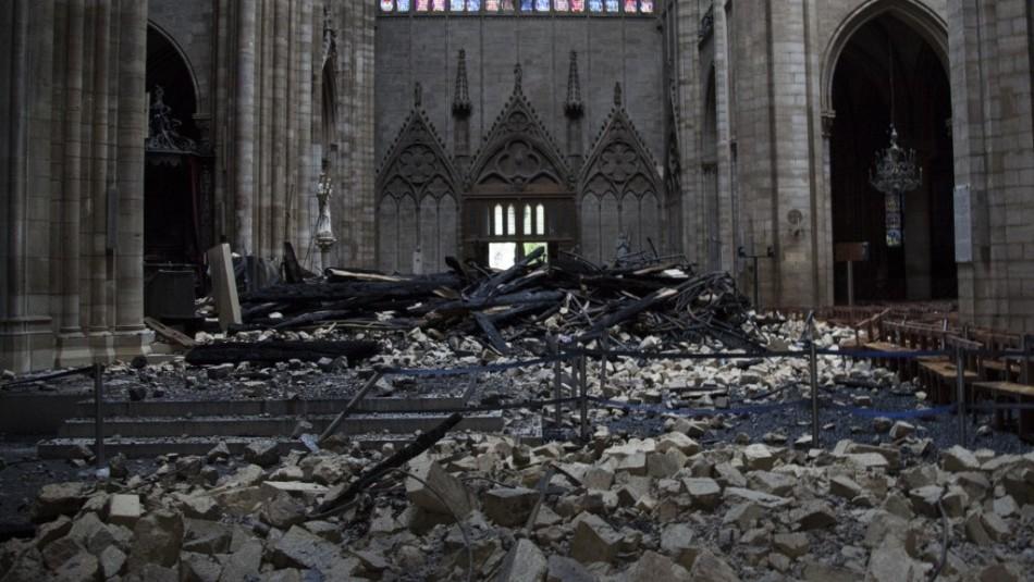 Interior de Notre Dame / AFP