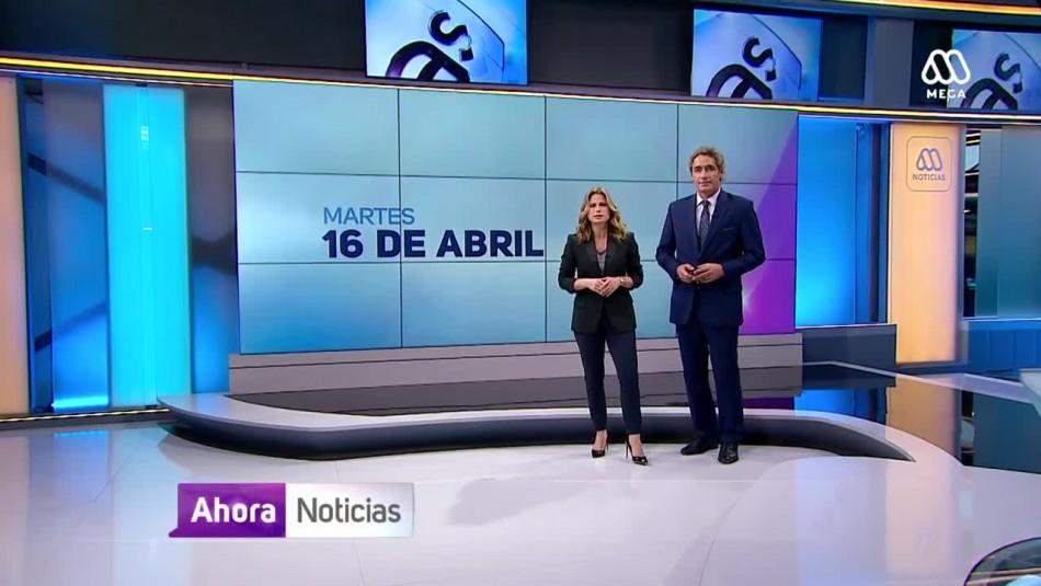 Ahora Noticias Central 16 de abril