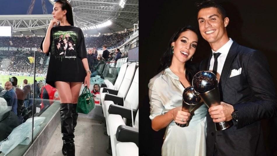 [VIDEO] Novia de Cristiano Ronaldo causa locura en Instagram con su look y nuevo book de fotografías
