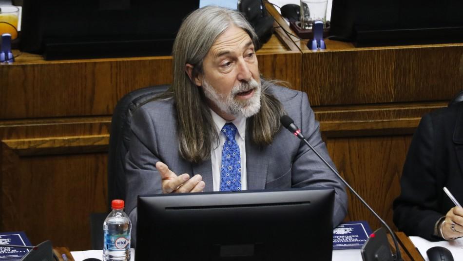 El senador Juan Pablo Letelier. / AgenciaUno