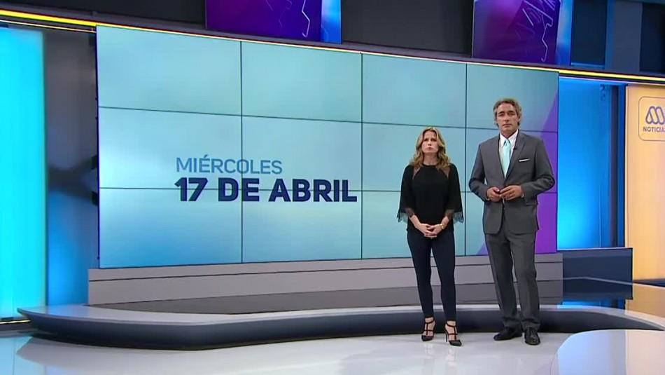 Ahora Noticias Central 17 de abril