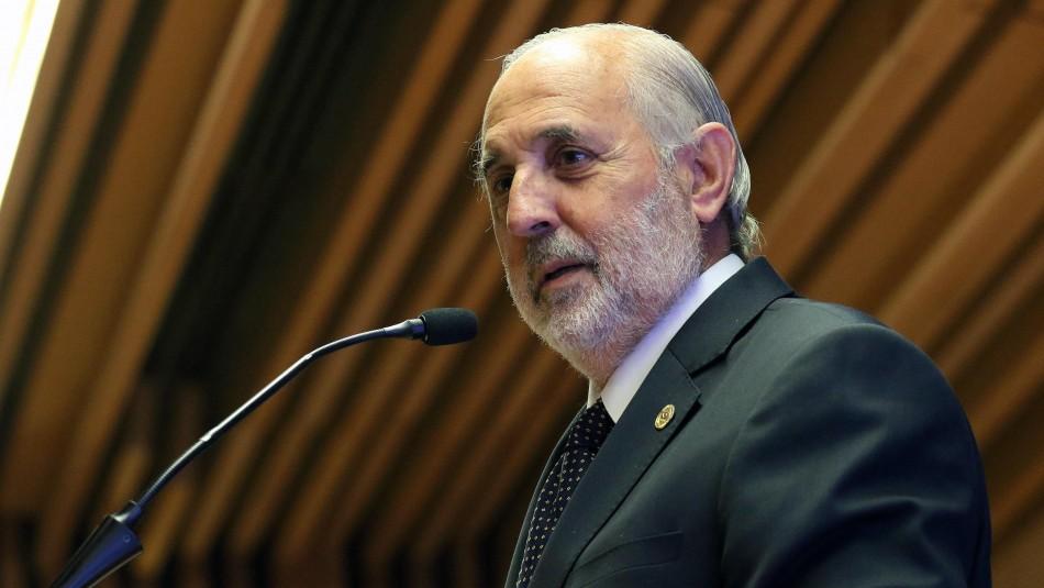 Jorge Abbott agrupa indagatoria contra jueces y Fiscalía Sur queda a cargo de su conducción
