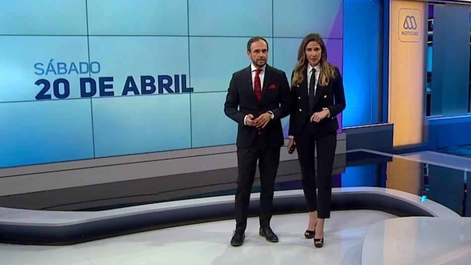 Ahora Noticias Central 20 de abril