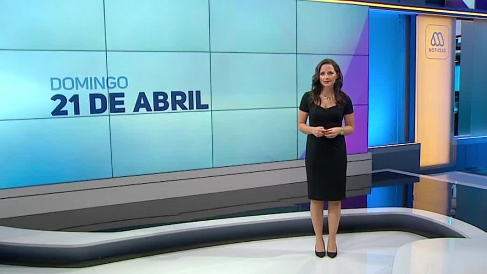 Ahora Noticias Central 21 de abril