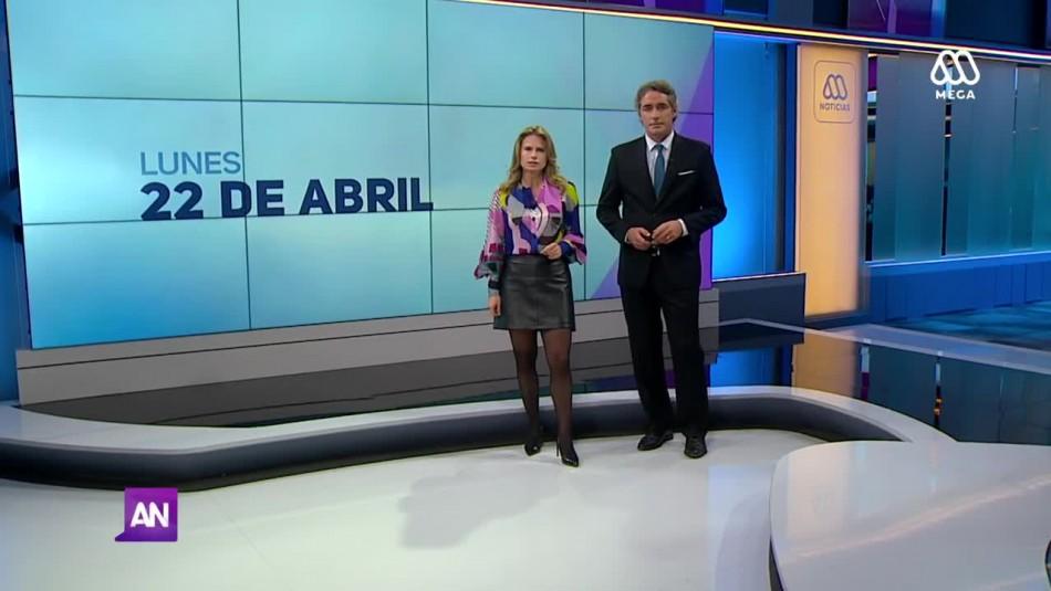 Ahora Noticias Central 22 de abril