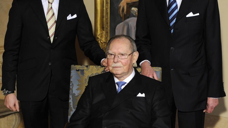 AFP / Gran Duque Juan de Luxemburgo.