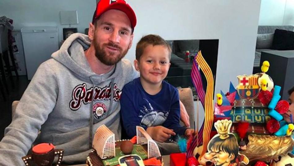Messi y su espectacular regalo. / Instagram