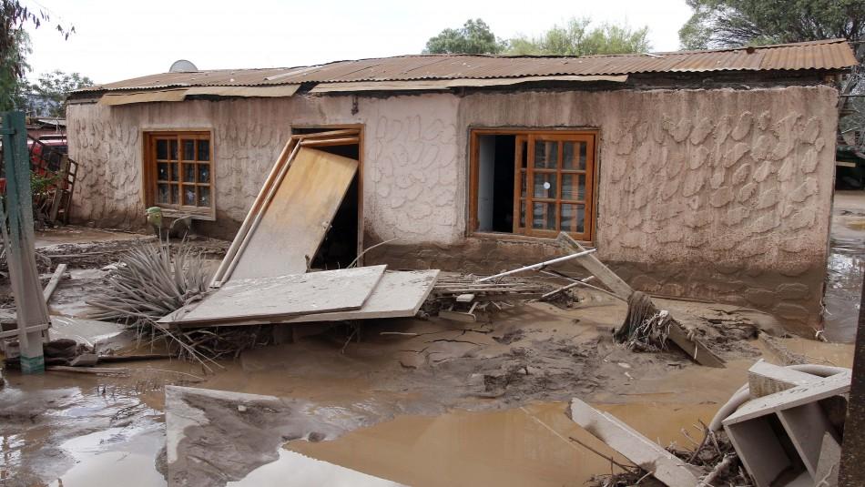 Aluvión en Copiapó, 2015 / Agencia Uno