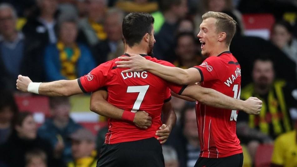 Shane Long hizo historia con su gol. / AFP