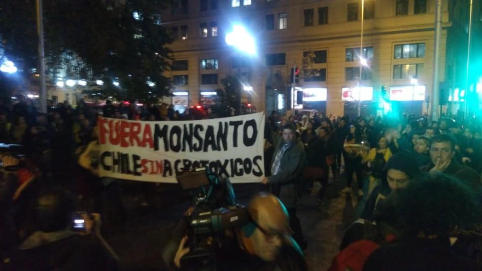 La manifestación contra el TPP11 / David Maldonado.