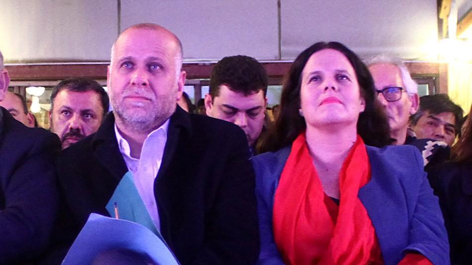 Álvaro Elizalde y Maya Fernández / Agencia Uno.
