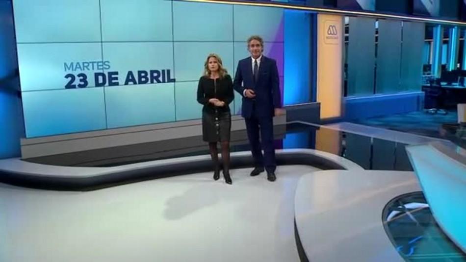 Ahora Noticias Central 23 de abril