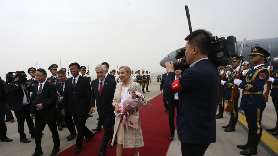Presidente Piñera se reúne con Xi Jinping tras aterrizar en China / Agencia UNO.