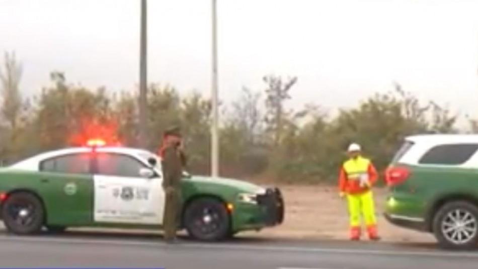 Dos muertos: Motorista atropella a indigente y luego es arrollado por un auto