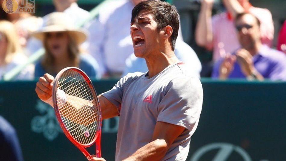 Garín busca triunfo en Barcelona. /ATP