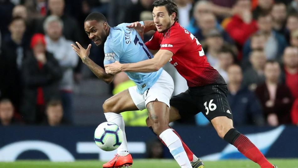 El desafío se juega en Old Trafford. / Reuters