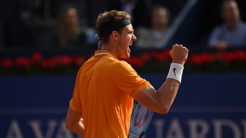 Jarry ya tiene rival en octavos del ATP 500 de Barcelona. / AFP