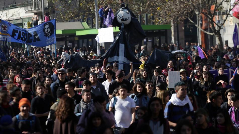 Las cinco demandas por las que este jueves marcharán los estudiantes