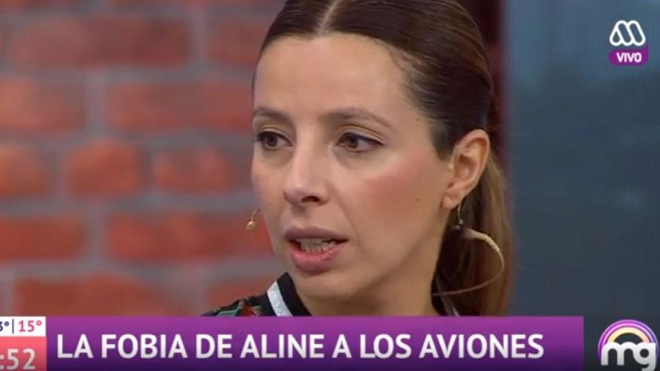 Las tragedias aéreas que cambiaron la vida de la exchica reality Aline Blanc