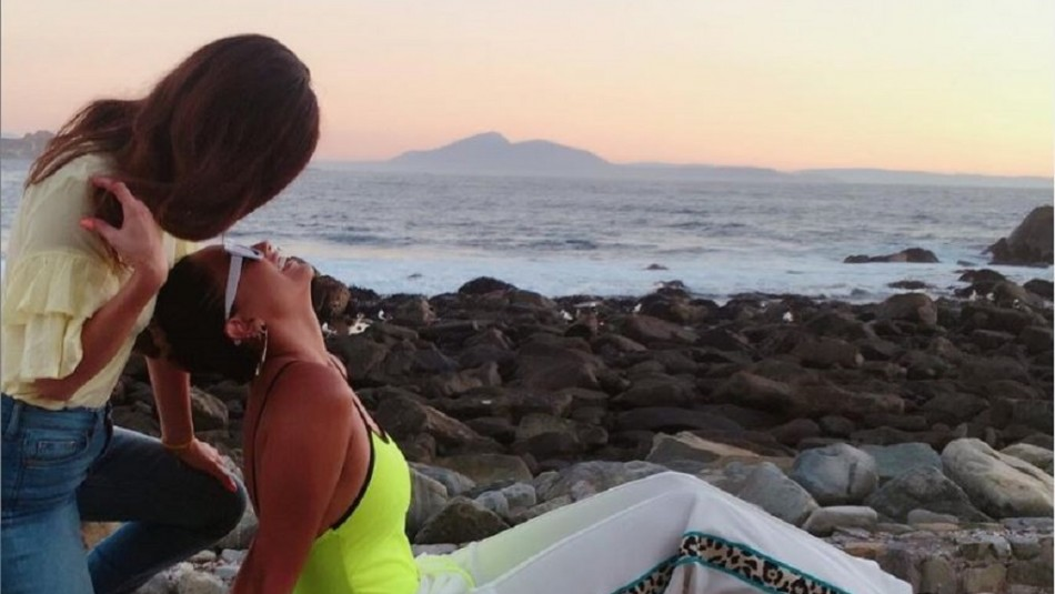Camila Recabarren confesó relación con una mujer