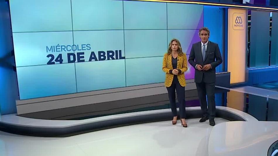 Ahora Noticias Central 24 de abril