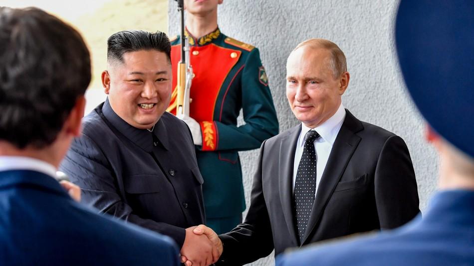 Kim y Putin celebran su primera cumbre para reavivar los vínculos históricos / Agencia AFP.