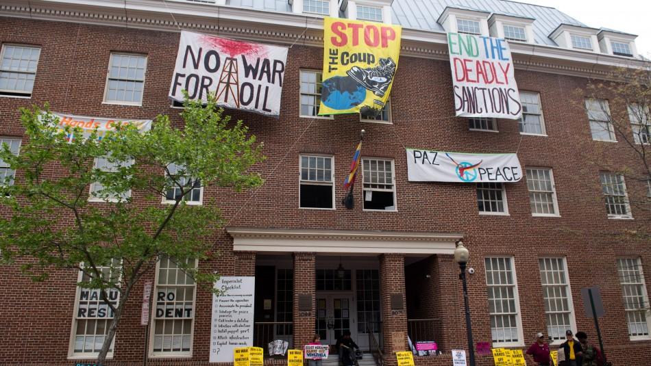EEUU está dispuesto a desalojar la embajada de Venezuela si Juan Guaidó lo dispone