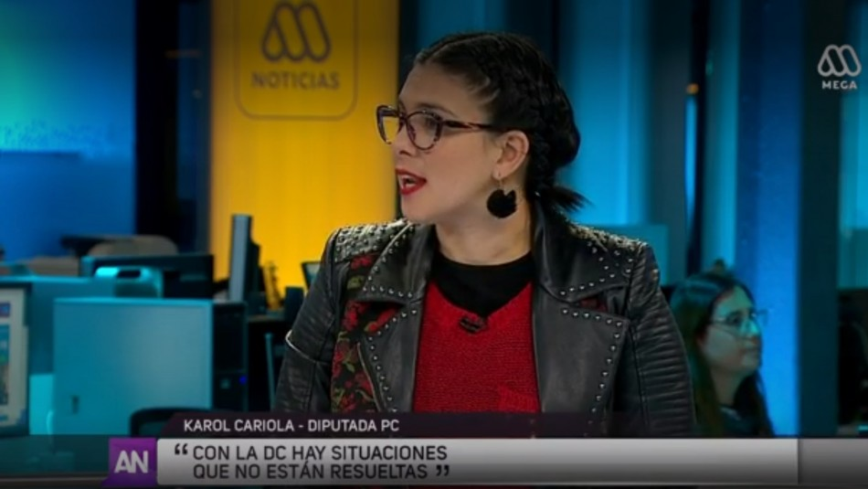 Diputada Cariola por crisis en el poder judicial: