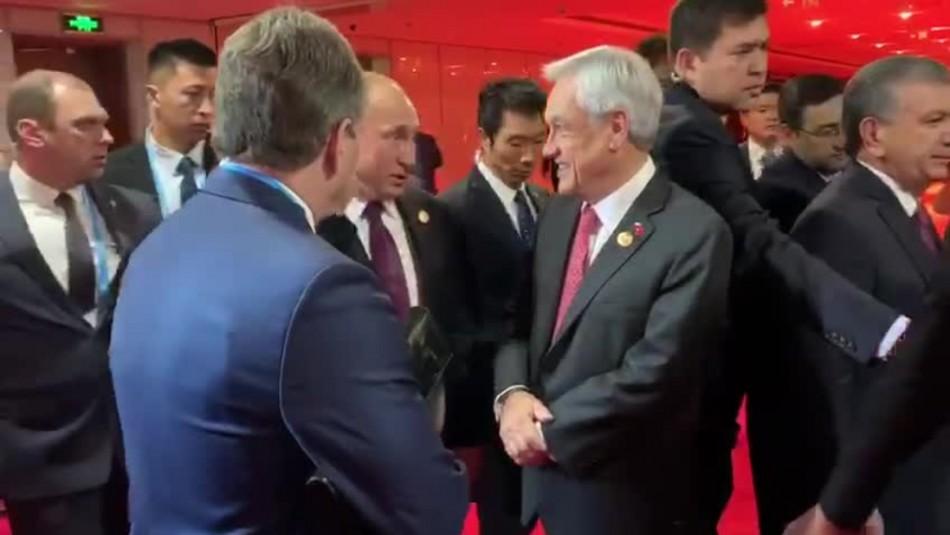 Presidente Piñera mantiene conversación con Vladimir Putin sobre Corea del Norte