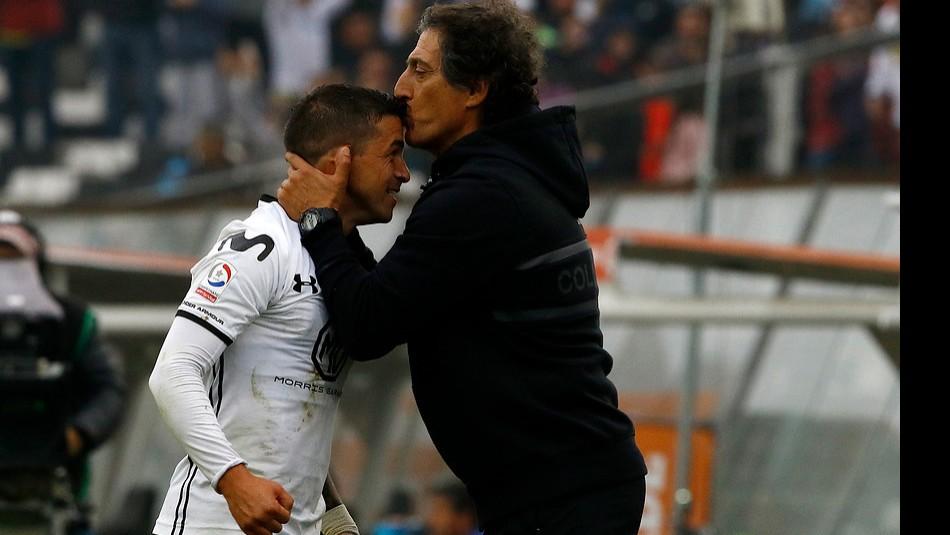Mario Salas realiza cambios en Colo Colo. / Agencia Uno